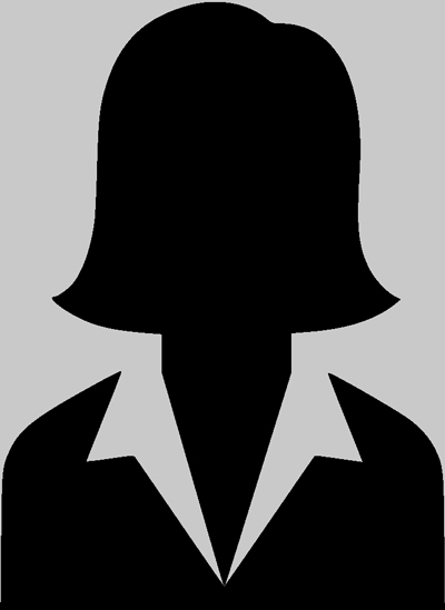 Female Silhouette for Missing Judge Picture