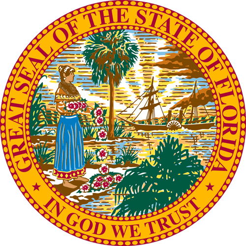 Florida State Seal Color
