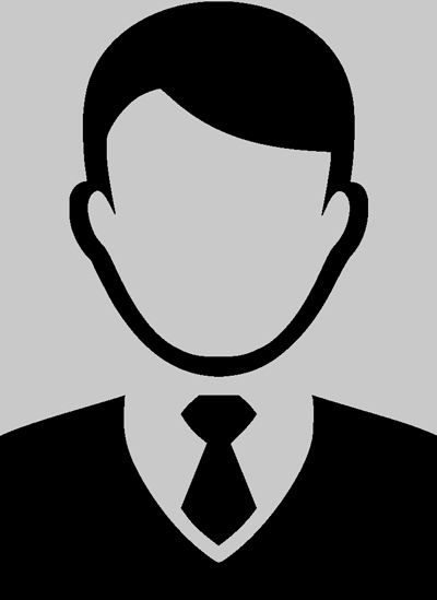 Male Silhouette for Missing Judge Picture